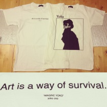 Yoko Ono tees from Zara, both £9.99 (sale price)