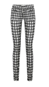 These will go with anything! Black and white houndstooth jeans by Isabel Marant, £205 Net-A-Porter. Click here.