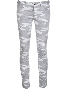 "At the more ""easily wearable"" end of the printed jeans spectrum, these skinnies will go with anything and are so easy. They're by Siwy at Farfetch, £183. Click here."