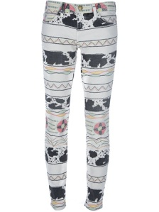 This tribal print is fab! Current/Eliott jeans, £213, Farfetch. Click here.