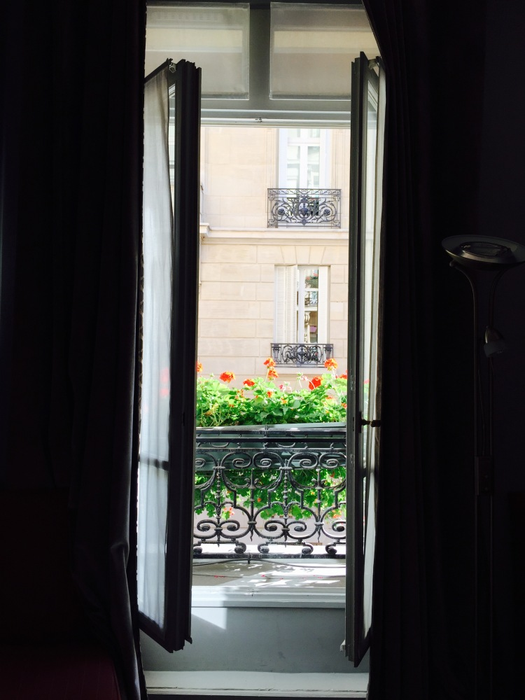 Waking up to this view every morning is probably the one thing I will miss most about Paris...